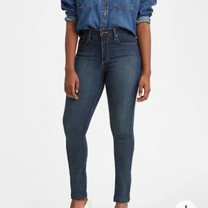 Levi's 721 High Rise Skinny Jeans Size 33